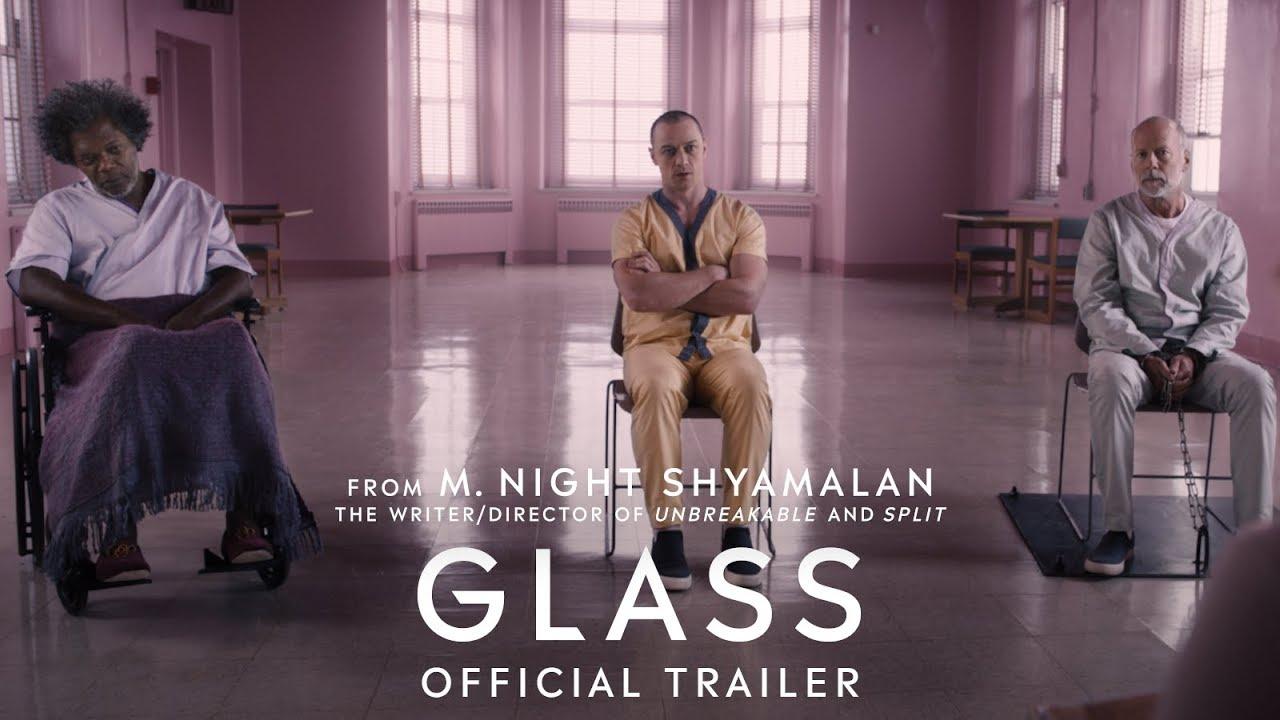 Trailer för Glass