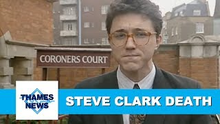 Steve Clark Found Dead at Chelsea Flat | Thames News Archive Footage