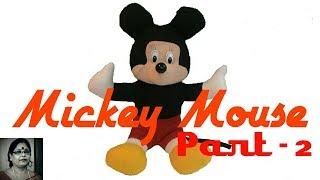 Handmade Mickey Mouse Soft Toys (PART- 2) / Debjani Creations Tutorial