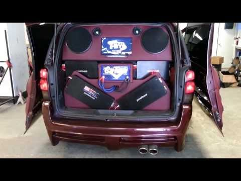 custom chevy uplander built by cartunes for hulk m