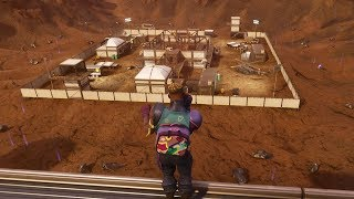 *NEW* DUSTY DIVOT GAMEPLAY IN FORTNITE! DUSTY DIVOT GAMEPLAY IN FORTNITE BATTLE ROYALE!!