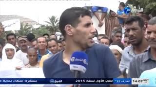 احتجاج مواطني بلدية عوف معسكر الشروق نيوز   YouTube