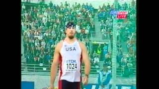Discus Throw Mens Final IAAF World Championships 2005 Helsinki