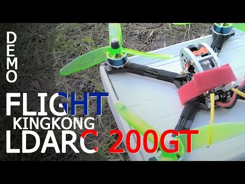 LDARC 200GT - DEMO FLIGHT - LA PARISIENNE - AMAZING - BangGood