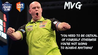 "MVG: ""You need to be critical of yourself otherwise you're not going to achieve anything"""