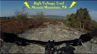 High Voltage Trail - Moosic Mountain, PA