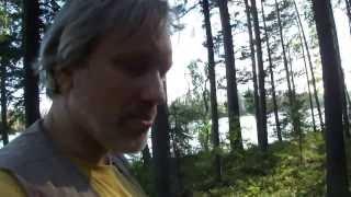 Велопрогулки с редактором 00124. Добрался до озера.