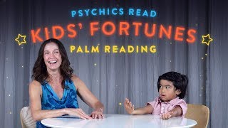 Psychics Read Kid's Fortunes | Palm Reading! | HiHo Kids