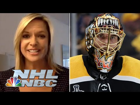 Tuukka Rask discusses life in bubble, finding rhythm and Bruins mentality in NHL return | NBC Sports