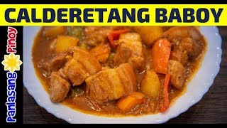 How to Cook Calderetang Baboy