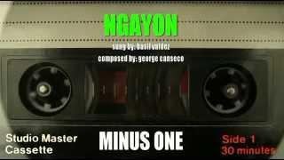 Ngayon - Original Minus One - Basil Valdez version