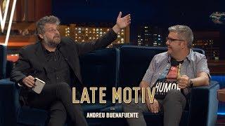 LATE MOTIV   Raúl Cimas. La Vida Inventada De Florentino Fernández I #LateMotiv580