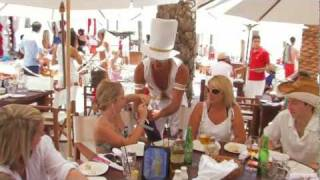 Nikki Beach Marbella Champagne Party 2011