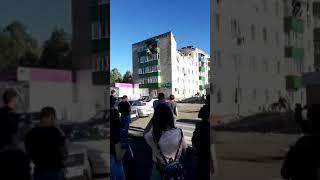 Взрыв газа в жилом доме в Заинске