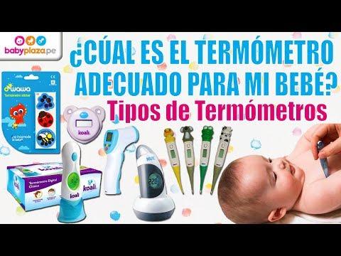 El  mejor Termometro para bebes | Tipos de Termometros