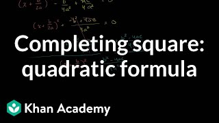 Completing the Square 4