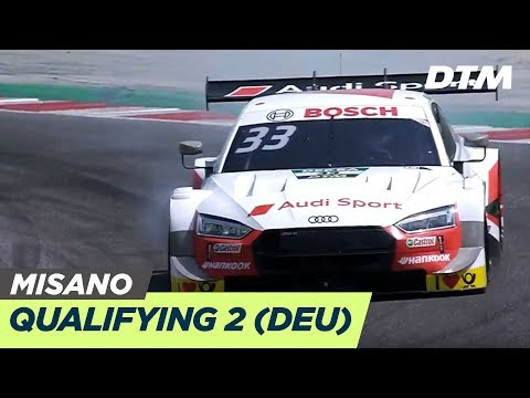DTM Misano 2019 - Qualifying Rennen 2 - RE-LIVE (Deutsch)