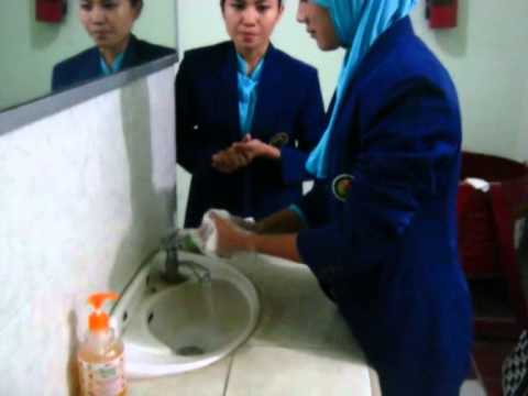 How to wash your hands step by step (Ajar and Lina)