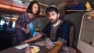 Singaporean Airlines - Business Class Review | number one in the world