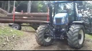 Rimorchio Forestale GALVAGNI FG140P Preala A Passo Variabile