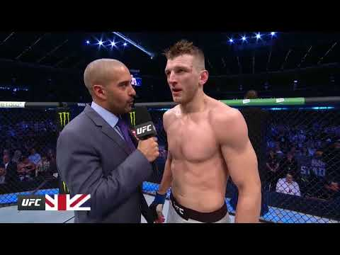 UFC 243: Dan Hooker Octagon Interview
