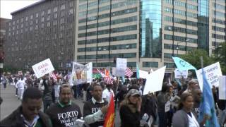 Video Assenna: 2000 Justice Loving Eritreans From The US&Canada Made History In DC - May 24, 2013