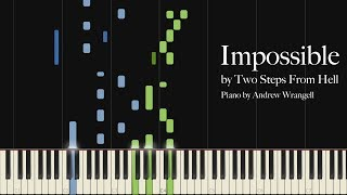 Impossible by Two Steps From Hell (Piano Tutorial)