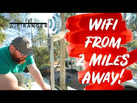 Getting Internet from 2 Miles Away – WifiRanger Review and Install – Best Wifi Booster