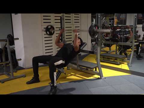 Barbell Close Grip Incline Bench Press