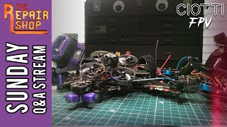 Sunday Q&A - The Repair Shop - FPV Cycle Prototype 5