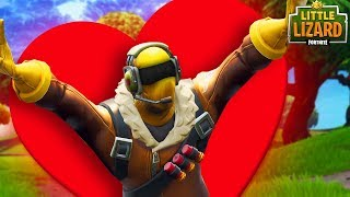 RAPTOR GOES ON A BLIND DATE! - Fortnite Short Film