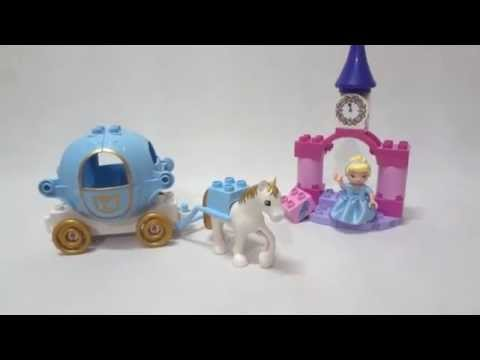 Vidéo LEGO Duplo 6153 : Le carrosse de Cendrillon