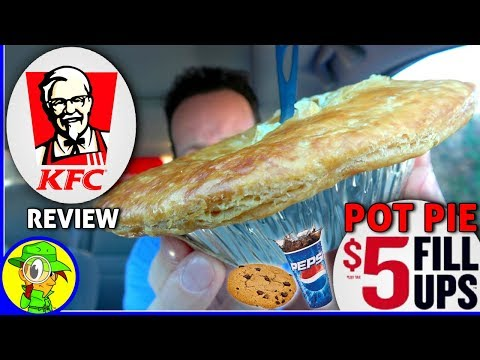 KFC®   Pot Pie $5 Fill Ups™ Review! 🐔🍲👴