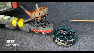 """ImpulseRC Micro Apex HD 4"""" - FPV Freestyle Raw Pack - Motor bell slipping off the shaft... WTF?"""