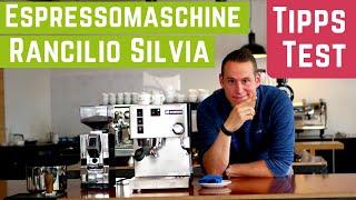 Rancilio Silivia V5 Espressomaschine im Test & Tipps zur Zubereitung [Deutsch]