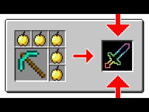 Video 10 HARD CRAFTING RECIPES IN MINECRAFT 1.11.2!