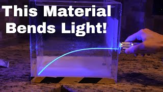 Crazy Material That You Can Make at Home That Actually Bends Light!