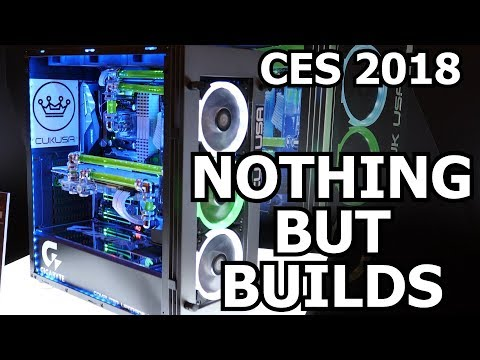 The Best Custom Builds & Mods of CES 2018! (видео)