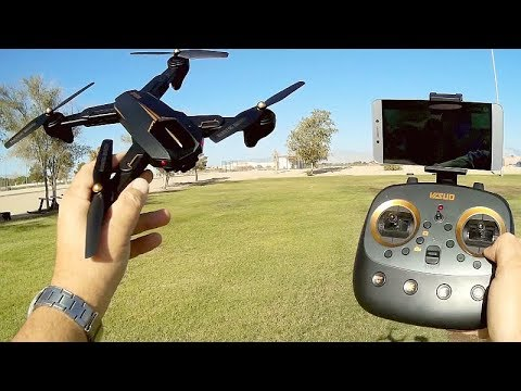 Visuo XS812 (XS-812W) GPS FPV Camera Drone Flight Test Review