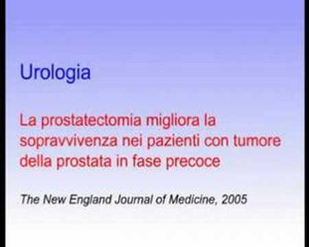 Trattamento del cancro della prostata coltello nano