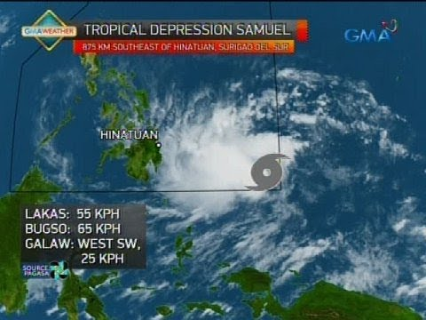 [GMA]  Weather update as of 5:40 p.m. (November 18, 2018)