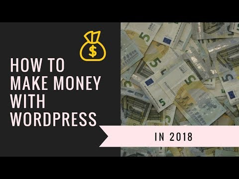 Episode 064: How to make money with WordPress in 2018 Podcast