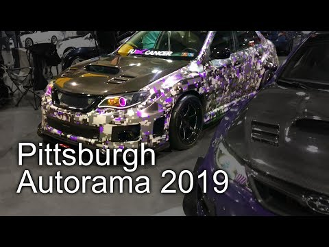 PITTSBURGH WORLD OF WHEELS 2019