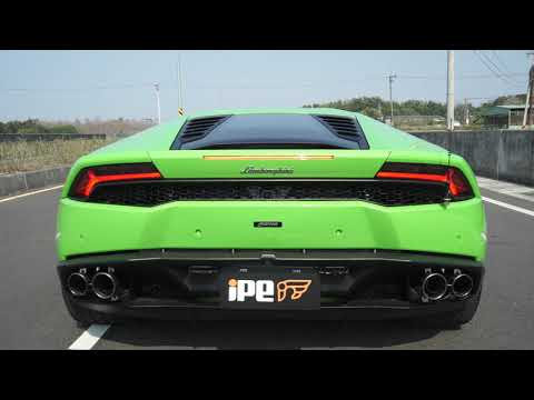 Lamborghini Huracan LP610-4 with full iPE Exhaust system
