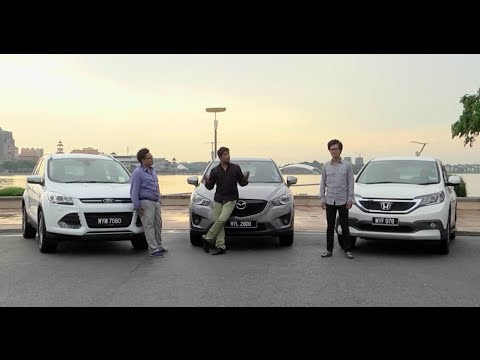 DRIVEN #2: Honda CR-V vs Mazda CX-5 vs Ford Kuga