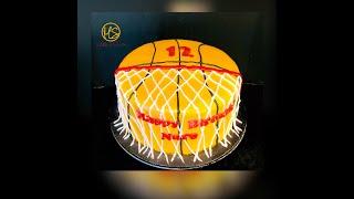 Como Decorar Un Cake Tema De Basketball #envivo