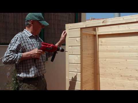 Montaje armario de madera para exterior - Albecove / Albecour