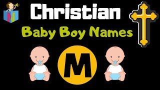 indian christian baby boy names starting with m - TH-Clip