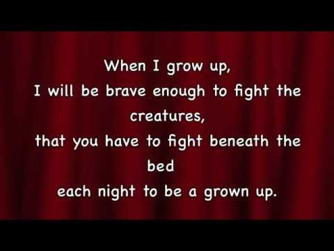 Matilda - When I Grow Up With Lyrics Mp3