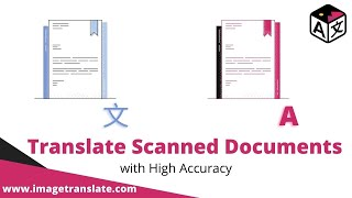 OCR and Translate scanned documents and pdf